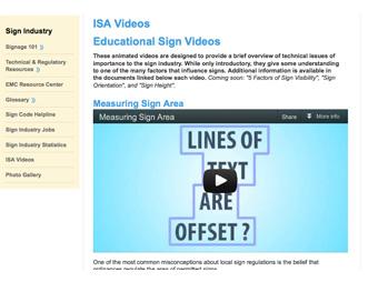 ISA Videos Planners