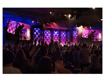 Daktronics Saddleback Church