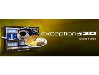 Exceptional3D