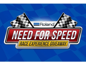 """Roland DGA Announces the """"Need for Speed"""" Race Experience - Sign"""