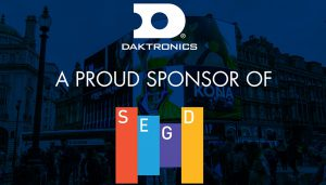 Daktronics partnership with SEGD