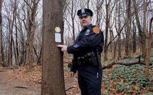 Cold Spring Harbor State Park Trailer Markers