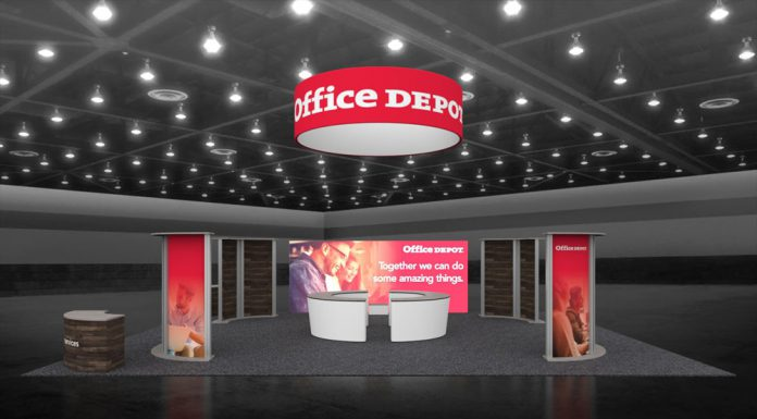 Orbus Distributor Display America Wins Award For Office Depot Exhibit