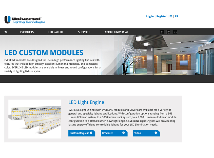 Universal Lighting Invites Fixture Designers To Customize