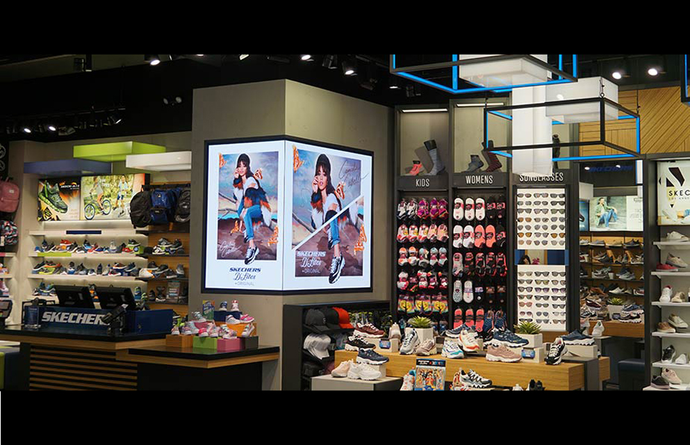 9b14aa9a84a Skechers Adds Daktronics Display To Flagship Store Location - Sign ...