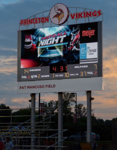 princeton high school virtual scoreboard