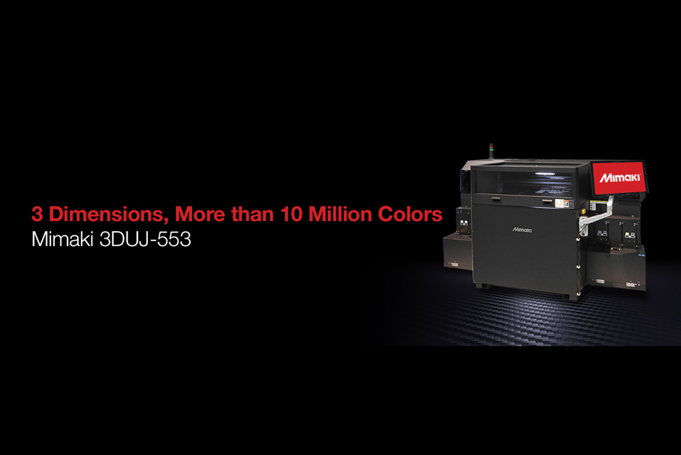 Mimaki USA Signs CAD BLU as National Dealer for 3DUJ-553 Printer
