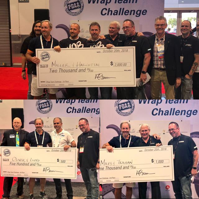 wrap team challenge
