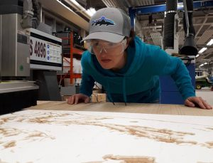 cnc router Marnie Blair