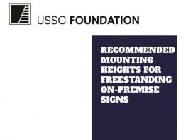 USSC Foundation Freestanding Sign Height