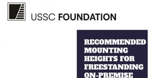 USSC Foundation Freestanding Sign Height