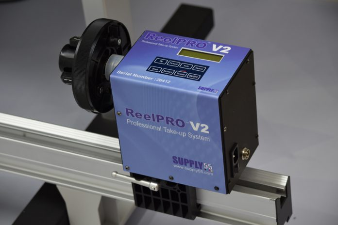 Supply55 Releases New Reelpro V2 Universal Take Up System