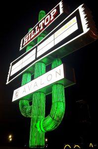 Barlo Signs Hilltop Steak House