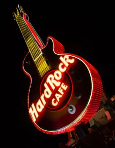 Hard Rock Cafe Neon Museum
