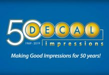 Decal Impressions 50th anniversary