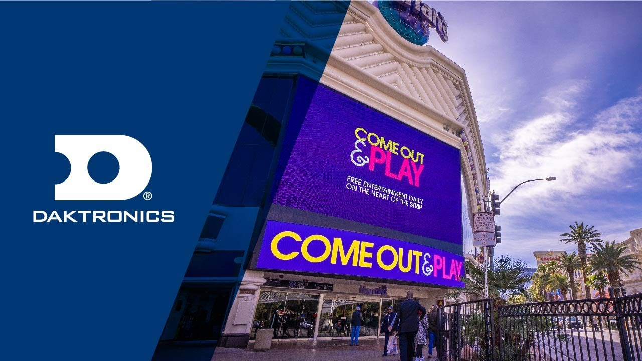 Caesars Entertainment Partners With Vision Sign And