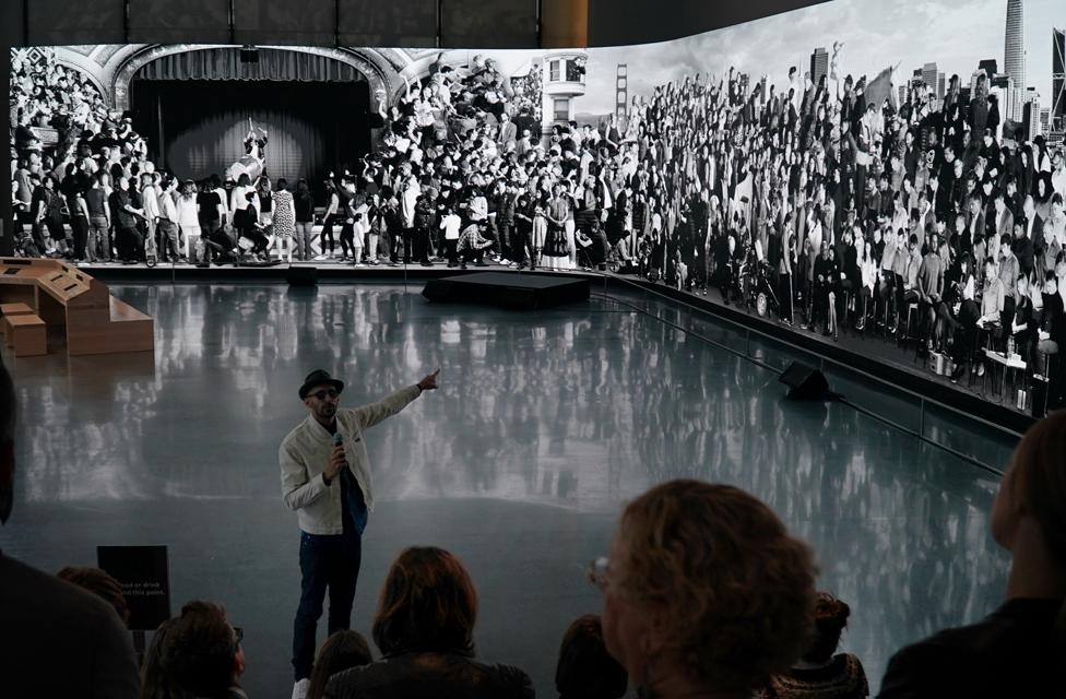 Digital Display Showcases Work of World Renowned Artist JR