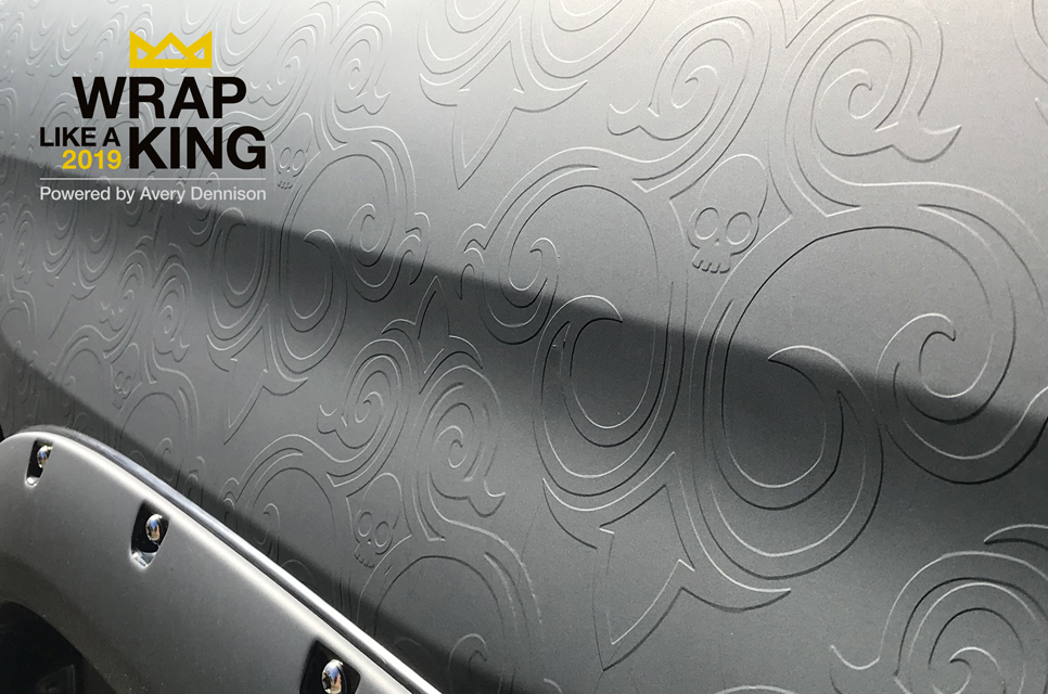 Avery Dennison Wrap Like A King 2019 Challenge Opens For