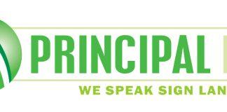 Principal LED logo