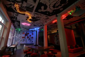 Hotel Zeppelin iLight Hotel Zeppelin Plexineon iLight