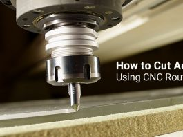AXYZ how to cut acrylic cnc router