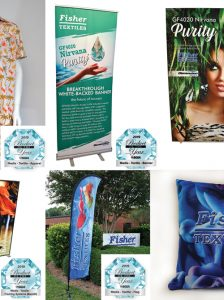 fisher textiles SGIA 2019 Product of the Year Awards