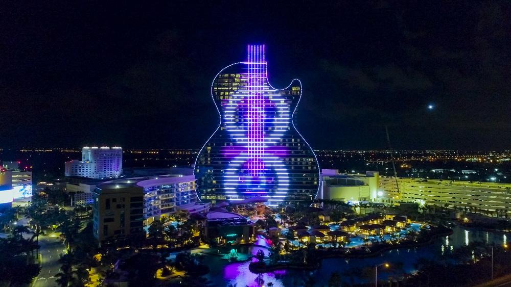 Guitar Shape Hotel