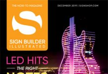 sign builder illustrated december 2019