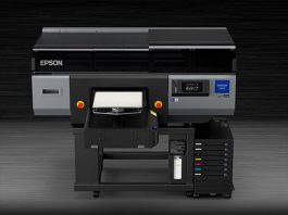 Epson SureColor F3070 Direct-to-Garment printers
