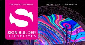 January 2020 sign builder illustrated