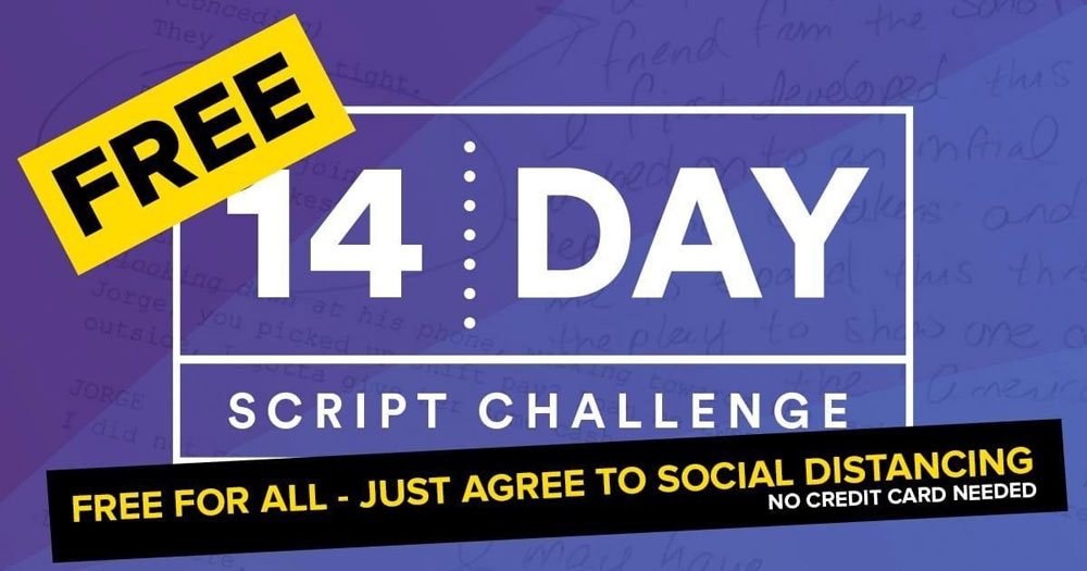 Harmon Brothers 14-Day Script Writing Challenge