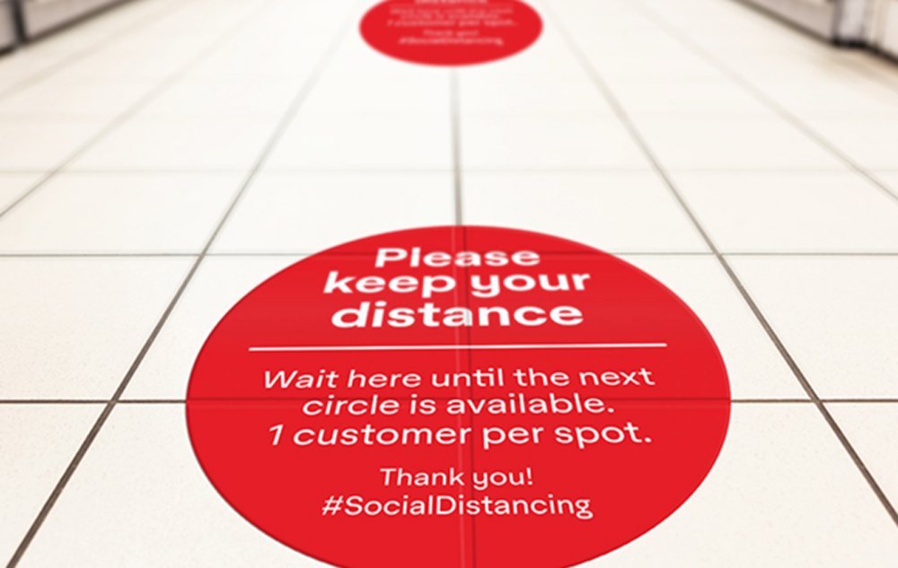 Floor Graphics Make Customers Look Down For A Unique Or