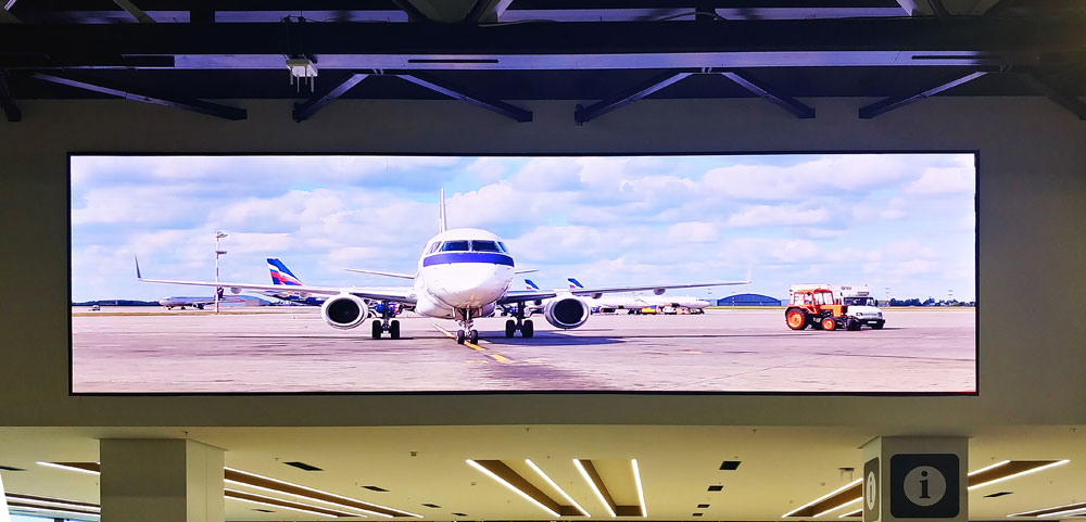 Sheremetyevo International Airport digital signage