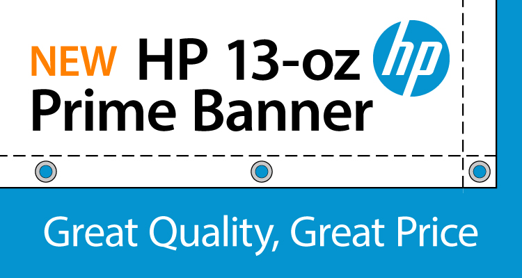 LexJet HP 13-oz Prime Gloss and Matte Banner