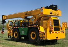 CD4430R rough terrain rail crane