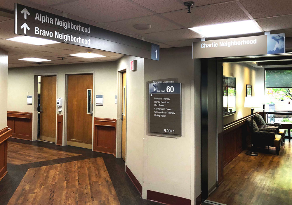 2/90 Sign Systems wayfinding