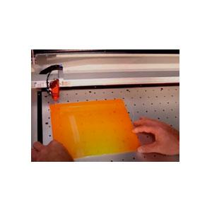 trotec laser blazer orange