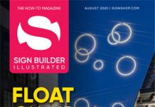 August 2020 sign builder illustrated