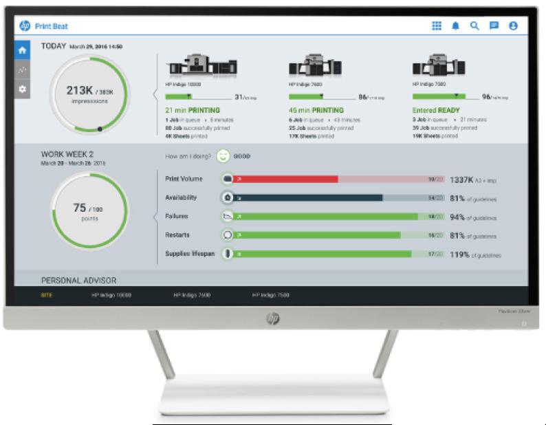 HP digital printing