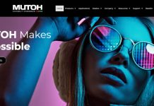 Mutoh America new website