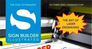 sign builder illustrated october 2020