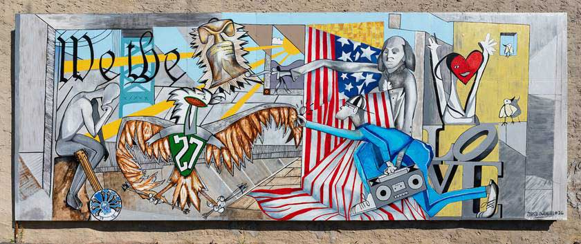 Mural Arts Philadelphia Laminators Inc.