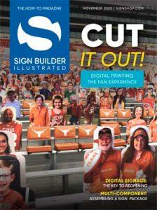 Sign Builder Illustrated November 2020