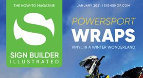 January 2021 sign builder illustrated