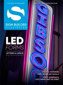 sign builder illustrated february 2021