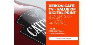 XEIKON CAFE tv benefits of digital printing