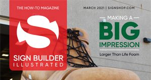 sign builder illustrated march 2021