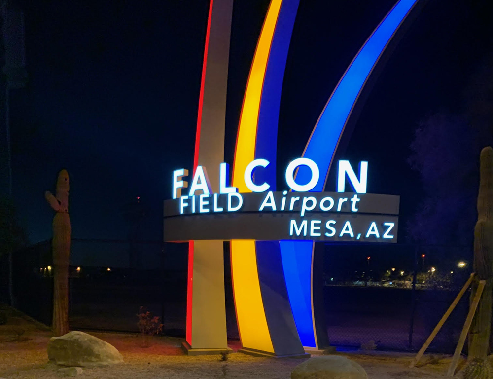 YESCO Falcon Field Airport