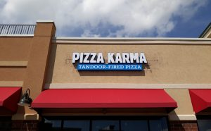 Pizza Karma channel letters