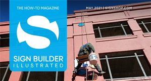 May 2021 sign builder illustrated
